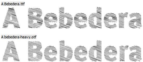 A Bebedera, tipografía gratuita para utilizar en proyectos y diseños