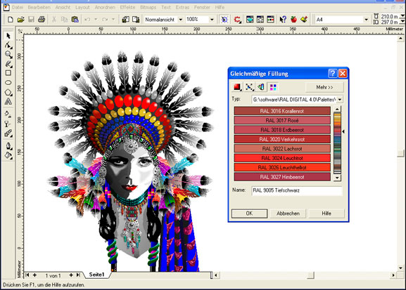 Corel Draw, programa de diseño