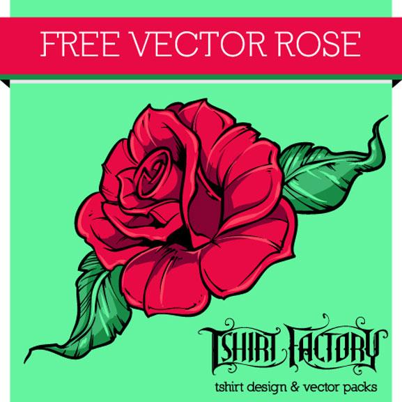 Rosa estilo tattoo en vectores gratis