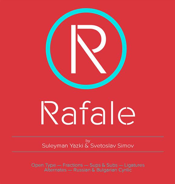 Rafale Font gratis para descarga