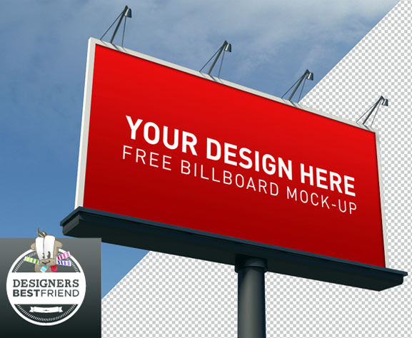 Billboard Mockup gratis