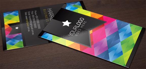 Mock Up de tarjeta de presentación para mostrarla a los clientes