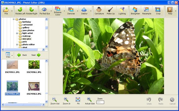 Photo Editor software gratuito