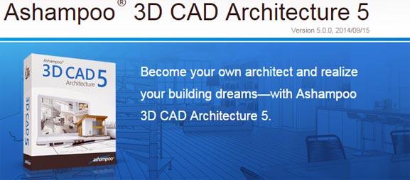 Ashampoo 3D CAD Architecture 5, programa ideal para arquitectos