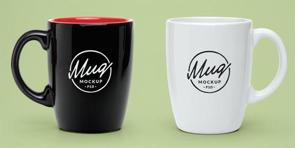 Mockup de taza de café gratis